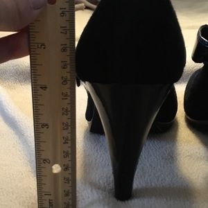 Style & Co Shoes - Black velvet Mary Jane pumps size 9 by Style & Co.